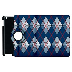 Diamonds And Lasers Argyle  Apple Ipad 3/4 Flip 360 Case by emilyzragz