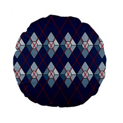 Diamonds And Lasers Argyle  Standard 15  Premium Flano Round Cushions by emilyzragz