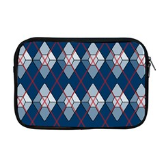 Diamonds And Lasers Argyle  Apple Macbook Pro 17  Zipper Case by emilyzragz