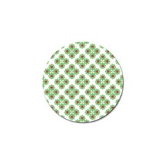 Floral Collage Pattern Golf Ball Marker (10 Pack) by dflcprints