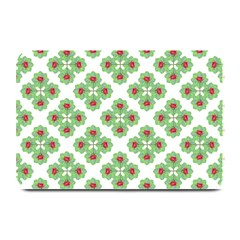 Floral Collage Pattern Plate Mats by dflcprints