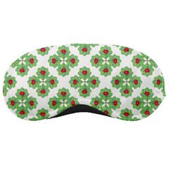 Floral Collage Pattern Sleeping Masks by dflcprints