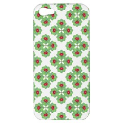 Floral Collage Pattern Apple Iphone 5 Hardshell Case by dflcprints