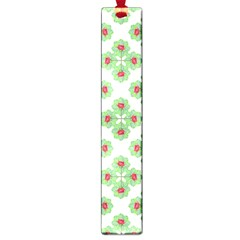 Floral Collage Pattern Large Book Marks by dflcprints