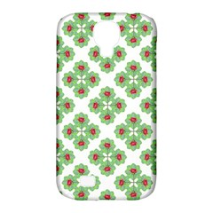 Floral Collage Pattern Samsung Galaxy S4 Classic Hardshell Case (pc+silicone) by dflcprints