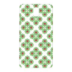 Floral Collage Pattern Samsung Galaxy Note 3 N9005 Hardshell Back Case by dflcprints