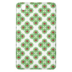 Floral Collage Pattern Samsung Galaxy Tab Pro 8 4 Hardshell Case by dflcprints