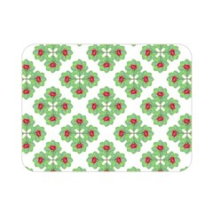 Floral Collage Pattern Double Sided Flano Blanket (mini)  by dflcprints