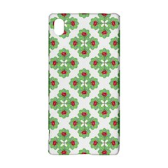 Floral Collage Pattern Sony Xperia Z3+ by dflcprints
