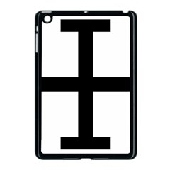 Cross Potent Apple Ipad Mini Case (black) by abbeyz71