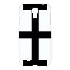 Cross Potent Samsung Galaxy S4 I9500/i9505 Hardshell Case by abbeyz71