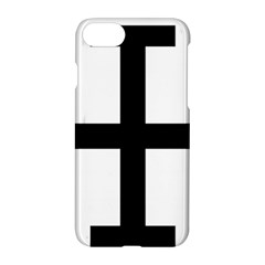 Cross Potent Apple Iphone 7 Hardshell Case by abbeyz71