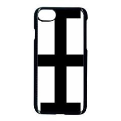Cross Potent  Apple Iphone 7 Seamless Case (black)