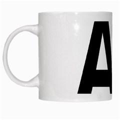 Albania Country Code  White Mugs by abbeyz71