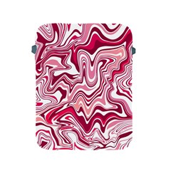 Pink Marble Pattern Apple Ipad 2/3/4 Protective Soft Cases by tarastyle