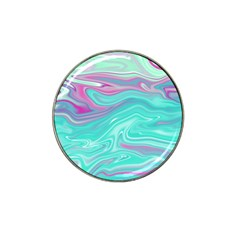 Iridescent Marble Pattern Hat Clip Ball Marker by tarastyle