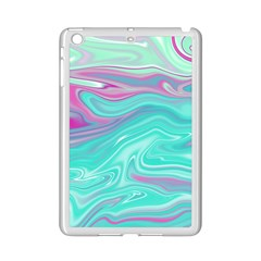 Iridescent Marble Pattern Ipad Mini 2 Enamel Coated Cases by tarastyle