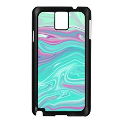 Iridescent Marble Pattern Samsung Galaxy Note 3 N9005 Case (black) by tarastyle