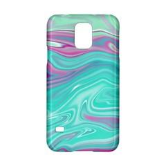 Iridescent Marble Pattern Samsung Galaxy S5 Hardshell Case  by tarastyle