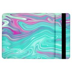 Iridescent Marble Pattern Ipad Air Flip by tarastyle