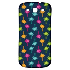 Funny Palm Tree Pattern Samsung Galaxy S3 S Iii Classic Hardshell Back Case by tarastyle