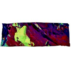 Abstract Painting ,blue,yellow,red,green Body Pillow Case Dakimakura (two Sides) by Costasonlineshop