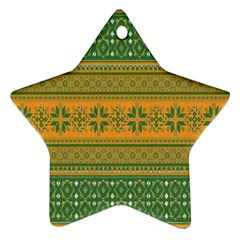 Pattern Ornament (star) by Valentinaart