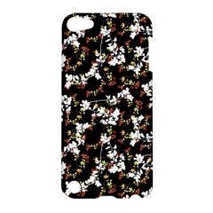 Dark Chinoiserie Floral Collage Pattern Apple Ipod Touch 5 Hardshell Case by dflcprints
