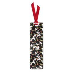 Dark Chinoiserie Floral Collage Pattern Small Book Marks by dflcprints