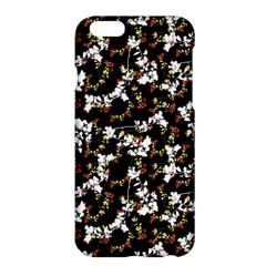Dark Chinoiserie Floral Collage Pattern Apple Iphone 6 Plus/6s Plus Hardshell Case by dflcprints