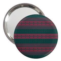 Pattern 3  Handbag Mirrors by Valentinaart