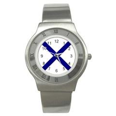 Saint Andrew s Cross Stainless Steel Watch by abbeyz71