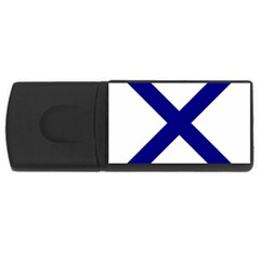 Saint Andrew s Cross Usb Flash Drive Rectangular (4 Gb) by abbeyz71