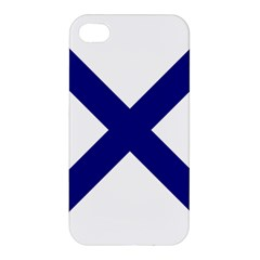 Saint Andrew s Cross Apple Iphone 4/4s Premium Hardshell Case by abbeyz71