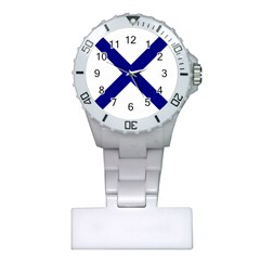 Saint Andrew s Cross Plastic Nurses Watch by abbeyz71