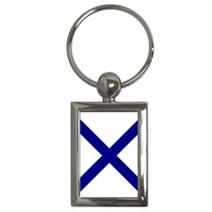 Saint Andrew s Cross Key Chains (rectangle)  by abbeyz71