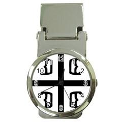 Serbian Cross Money Clip Watches by abbeyz71