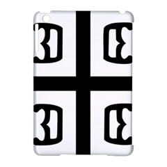 Serbian Cross Apple Ipad Mini Hardshell Case (compatible With Smart Cover) by abbeyz71