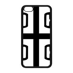 Serbian Cross Apple Iphone 5c Seamless Case (black) by abbeyz71