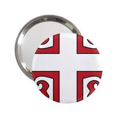 Serbian Cross Shield 2 25  Handbag Mirrors by abbeyz71