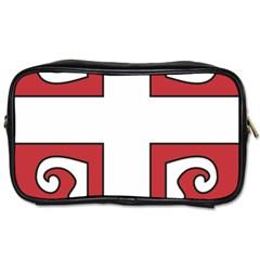 Serbian Cross Shield Toiletries Bags 2 Side by abbeyz71
