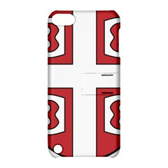 Serbian Cross Shield Apple Ipod Touch 5 Hardshell Case With Stand by abbeyz71