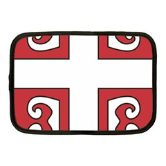 Serbian Cross Shield Netbook Case (medium)  by abbeyz71