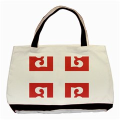 Serbian Cross  Basic Tote Bag