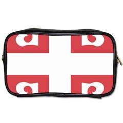 Serbian Cross  Toiletries Bags 2 Side by abbeyz71