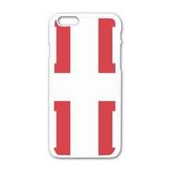 Serbian Cross  Apple Iphone 6/6s White Enamel Case by abbeyz71