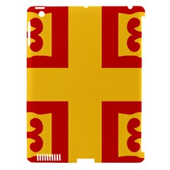 Byzantine Imperial Flag, 14th Century Apple Ipad 3/4 Hardshell Case (compatible With Smart Cover) by abbeyz71