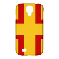Byzantine Imperial Flag, 14th Century Samsung Galaxy S4 Classic Hardshell Case (pc+silicone) by abbeyz71