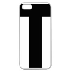 Tau Cross  Apple Seamless Iphone 5 Case (clear)