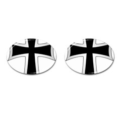 Cross Of The Teutonic Order Cufflinks (oval) by abbeyz71